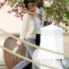 Celebs Hit The Street: Diddy & Cassie Get Cozy On Star Island