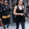 Kim And Kourtney Hit Boot Camp!!