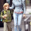 Mommy Duty: Sarah Jessica Parker Walks Son To School