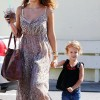 Mommy Duty: Jessica Alba And Honor Run Errands