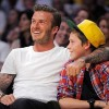 Daddy Duty: Beckham Hits Lakers Game With Son Brooklyn