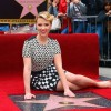 ScarJo Goes 50s Glam To Receive Her Star