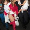 Jlo carries out her twins while backstage after her performance #BillboardMusicAwards