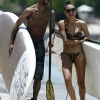 Naya Rivera and Big Sean continue to enjoy their Hawaiin vacay with some paddle boarding