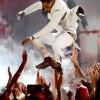 Miguel Lands On Fan's Neck At Billboard Music Awards