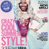 Nicki Minaj resembles a living doll on the new cover of Teen Vogue