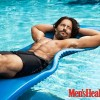 A relaxed Joe Manganiello proudly flaunts his six pack in Men's Health July/ August issue