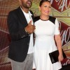 Maxwell and Angie Martinez posed up on the red carpet together 40/40