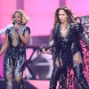 Chime For Change Concert: Jennifer Lopez and Mary J. Blige Duet