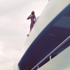 """JUMP!"" Beyonce Jumps Off The Top Of Her Yacht"