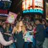 MARIAH CAREY TAKES OVER TIMES SQUARE TO CELEBRATE NEW ALBUM