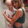 Taylor Swift's mom made a young cancer sufferer's dream come true when she arranged for the 6-year-old to meet the singer backstage in Atlanta