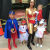Kourtney Kardashian and the kiddies kick off the Halloween fun a week early